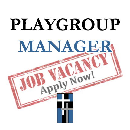 Job Vacancy - Playgroup Manager