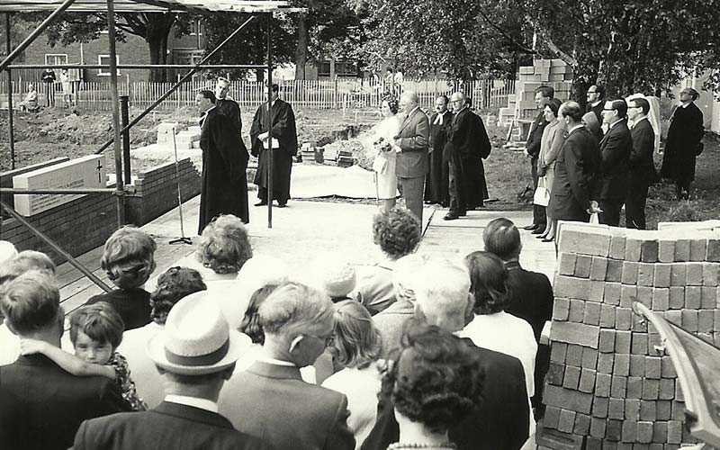 Service for the laying of the foundation stone