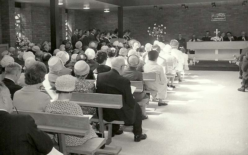 Church Opening - 12th June 1966